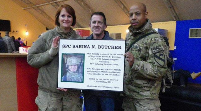 Fallen Checotah Soldier Honored By USO In Afghanistan