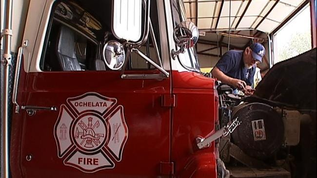 Rural Fire Departments Struggle With Balancing Budgets