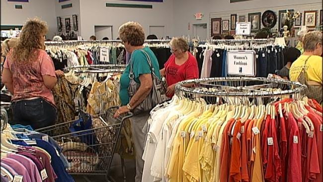 Shoppers Turn Out For Opening Of Goodwill In Glenpool