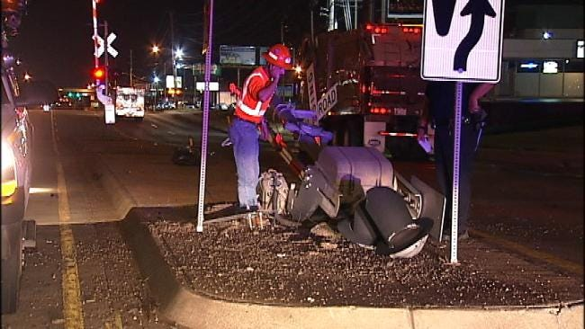 Texting Teen Crashes Into Tulsa Railroad Crossing