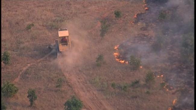 2 Dead, Firefighter Injured After Van Collides With Rig En Route To Grass Fire