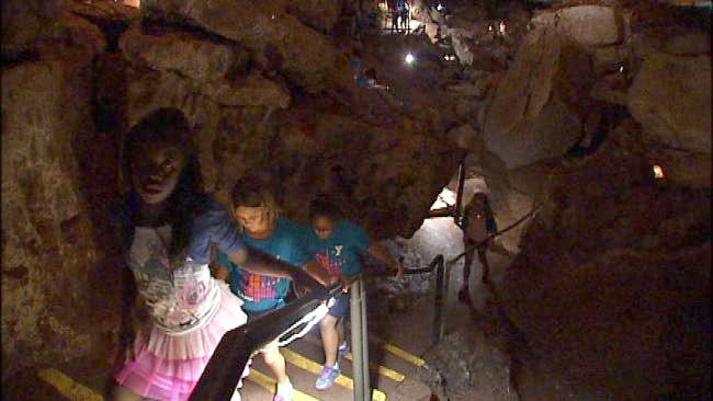 Oklahoma's Own Natural Wonder: Alabaster Caverns