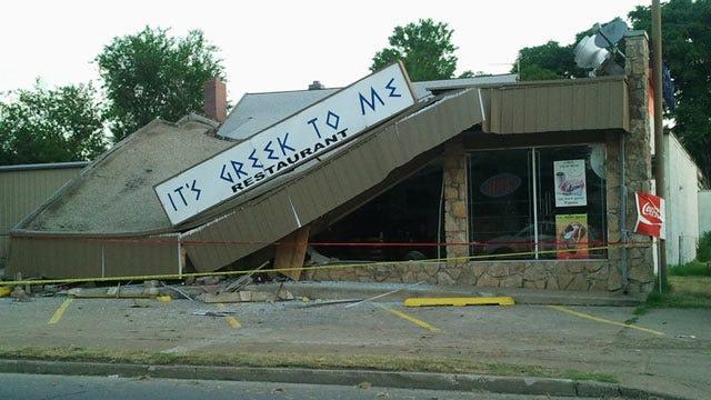 Tulsa Restaurant Damaged In Overnight Crash
