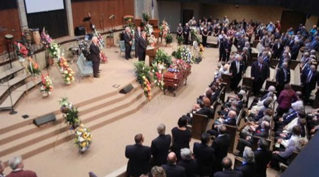 Family, Lawmakers Attend Funeral For Oklahoma Senator Gene Stipe