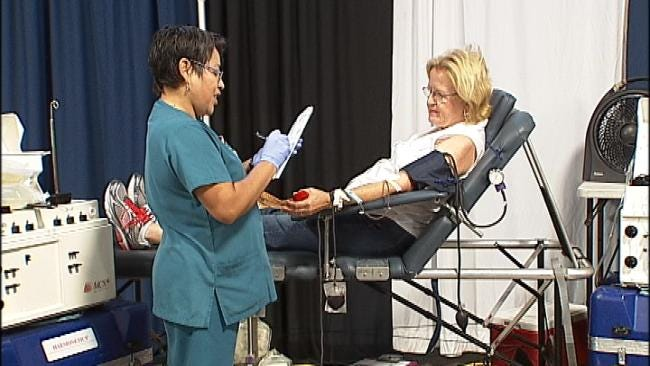 Blood Drive At Home And Garden Expo Benefits Tulsa Man Injured By Fireworks