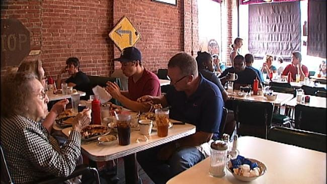 Tulsa's Blue Dome Diner Closed - For Now