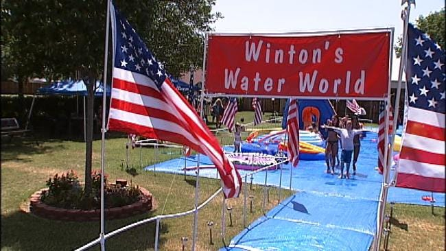 Homemade Tulsa Water Park Draws Visitors From Across The Country