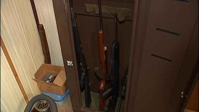 Assault Rifles Found In North Tulsa Standoff Returned To Owner