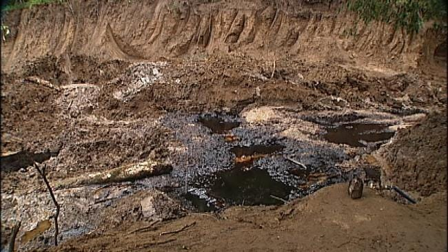 Mystery Oil Well Leaking Into Washington County Creek