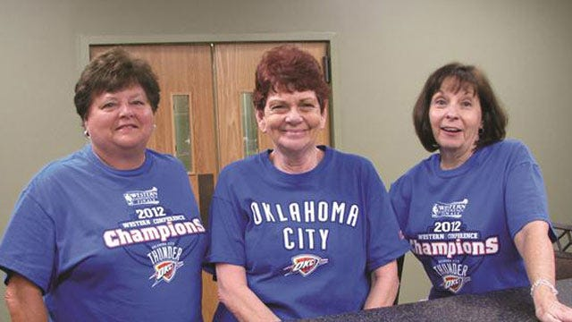 Thunder Fans From Eastern Oklahoma Show Their Support