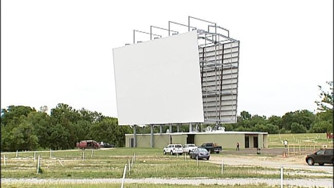 Tulsa's Admiral Twin Drive-In Opens Again Friday