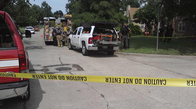 Tulsa Firefighters Find Woman's Body On House Fire Call