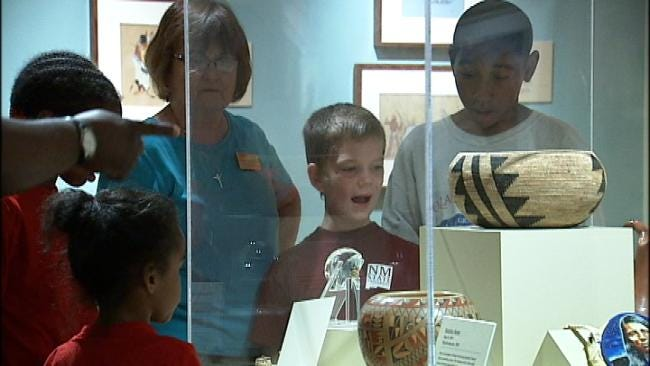 Tulsa-area Kids 'Rock' Philbrook Museum