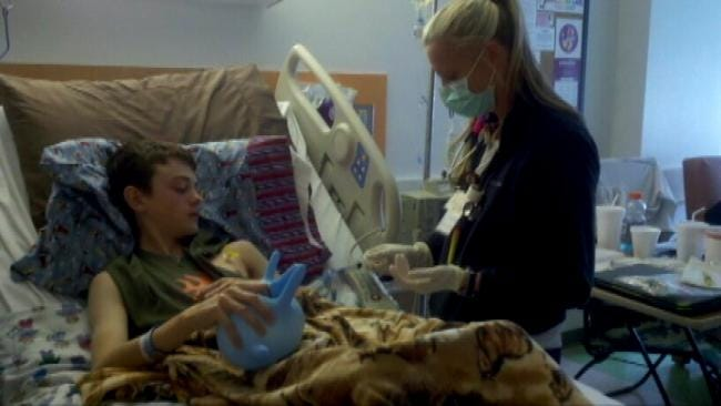 Teen Diagnosed With Cancer Rallies Support For Blood Donations
