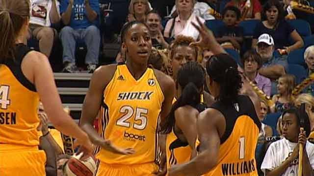 Indiana Fever Escape With Victory Over Shock