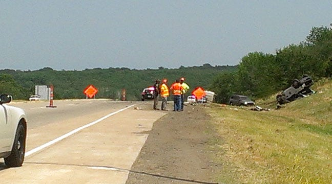 ODOT Worker Killed In Crash On I-40 Near Henryetta