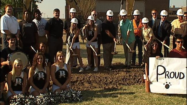 Broken Arrow High School Begins Construction On Addition