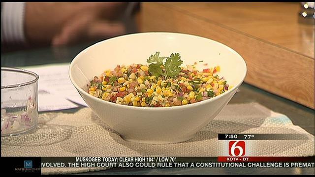 Cilantro Tomato Corn Salad