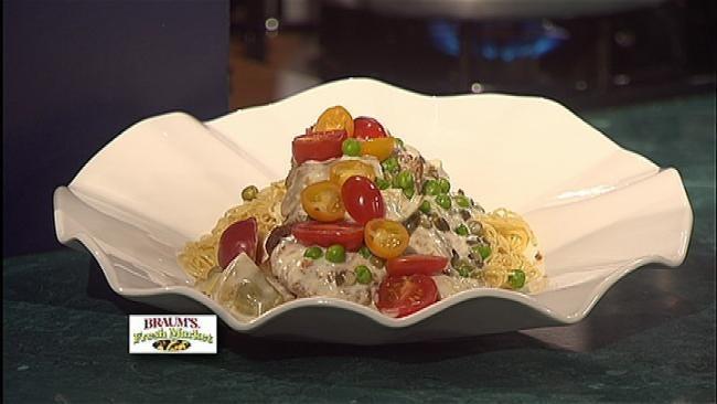 Veal Limone Carciofi
