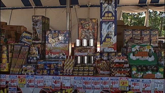 No Fireworks Show For One Oklahoma Town
