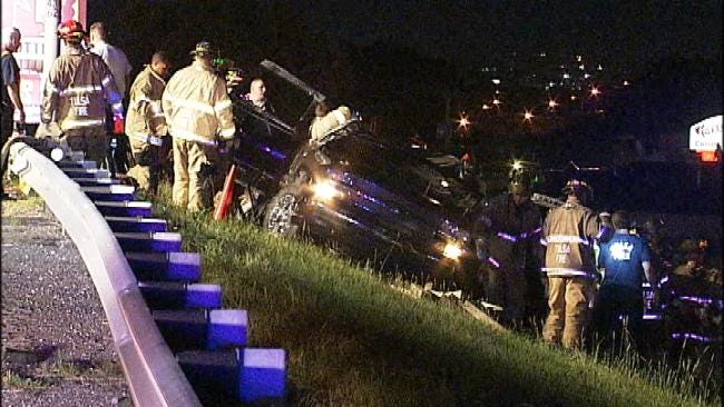 Tulsa Woman Arrested For DUI After Fatal Crash On I-244