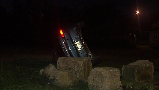 Two Women Injured In One-Car Tulsa Rollover Wreck