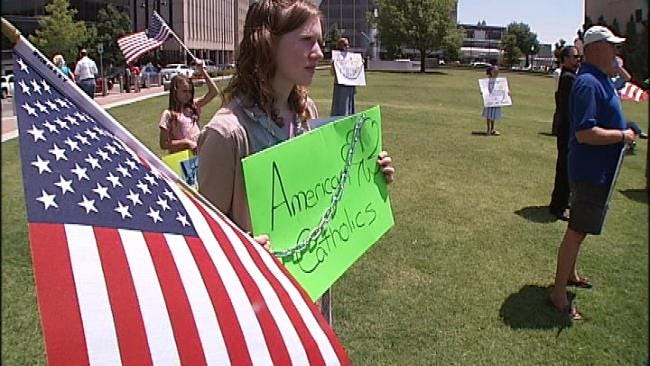 Tulsans Rally For Religious Freedom