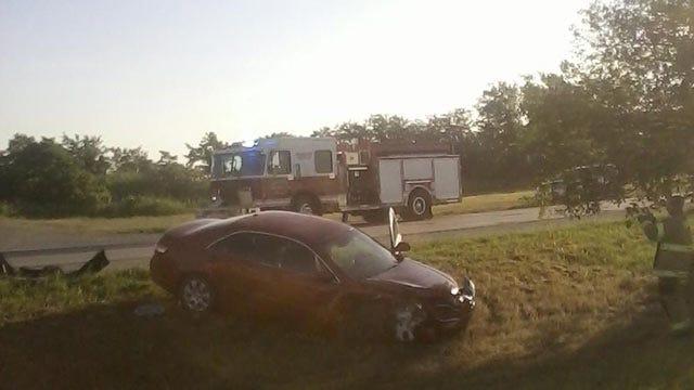 Tulsa Police: Driver Blames Sun For Crash On 46th Street North