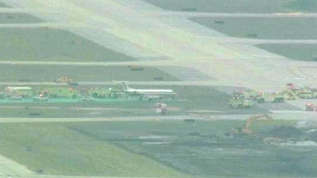 Tulsa-Bound Flight Veers Off Chicago Runway During Emergency Landing