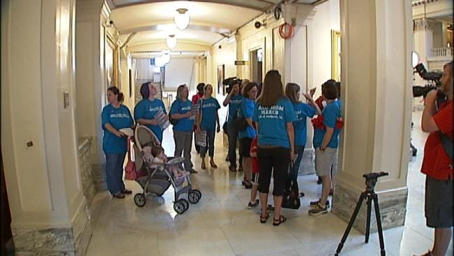 'Mad Moms' Rally For More Education Funding In Oklahoma