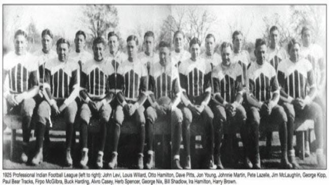 Movie Set To Highlight Hominy Indians' 1927 Gridiron Feat