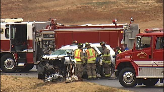 Three Dead In Head-On Wreck Outside Sapulpa