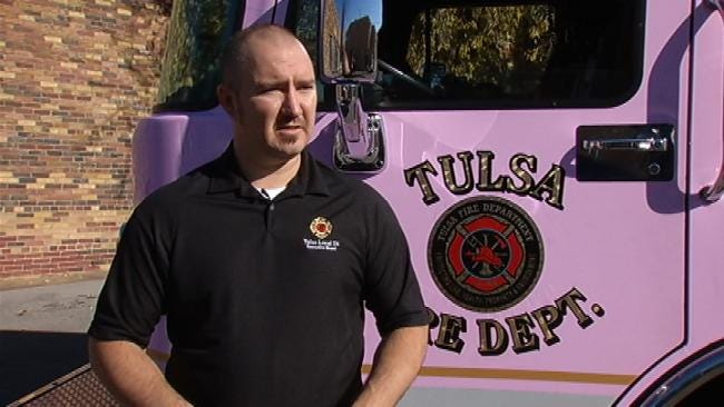 Tulsa Firefighters Deliver Turkey Dinners To Needy Families