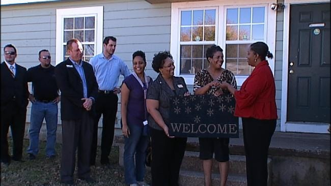 Tulsa Urban League, Wells Fargo Gift Two Families With New Homes