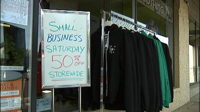 Local Tulsa Shops Thrive On Small Business Saturday