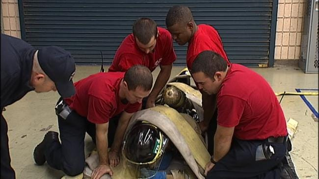 Tulsa Fire Cadets Train For Dangerous Scenarios