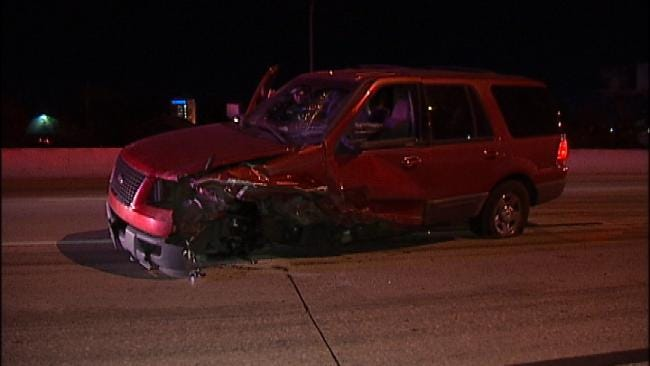 Driver Arrested After Head-On Crash On Highway 169 At BA Expressway