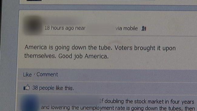 Political Postings Put Strains On Facebook Friendships