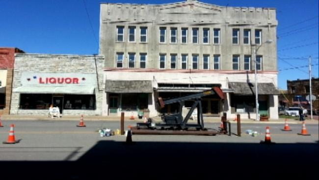 Movie Crew Does Some Rearranging In Small Oklahoma Town