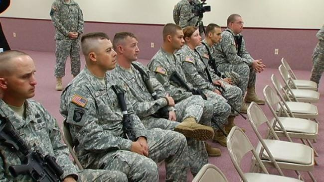 Another Oklahoma National Guard Unit Prepares For Deployment