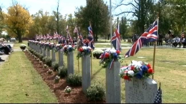 British Air Force WWII Recruits Killed During Training In Oklahoma Honored