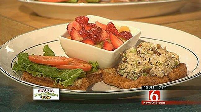 Waterfront Grill's Chicken Salad Sandwich