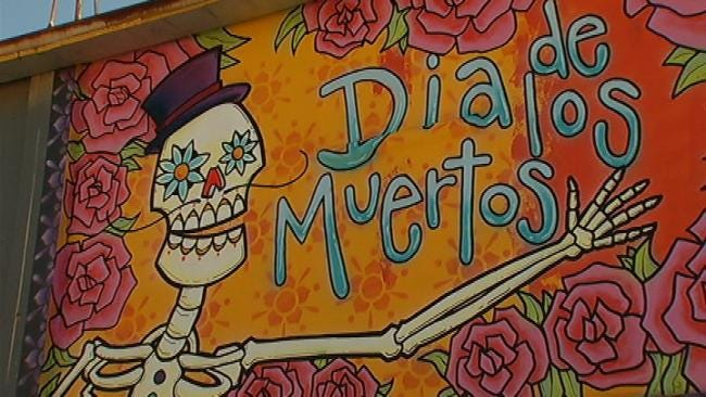 Murals Go Up In Brady District For Day Of The Dead