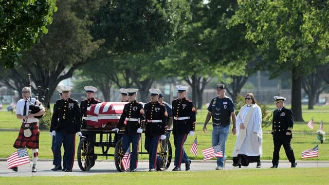 Remains Of Tulsa Marine Killed In World War II To Be Buried In DC
