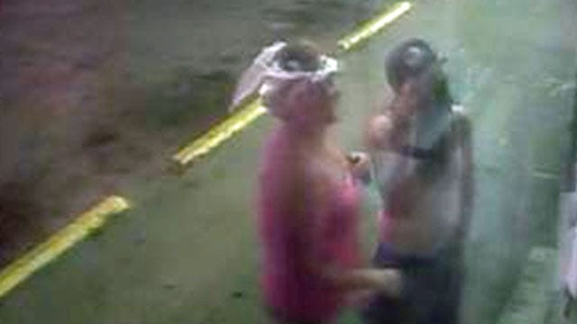 Surveillance Photos Show Women Attempting Tulsa Break-In