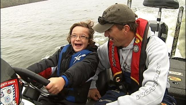 Fishing Trip With Professional Angler To Benefit Down Syndrome Association