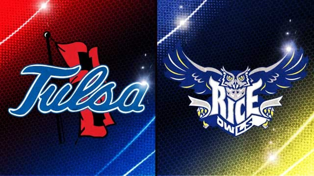 Tulsa Scores Late To Fry Rice On Homecoming
