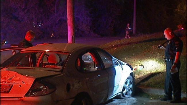 Woman Injured In Possible DUI Tulsa Wreck