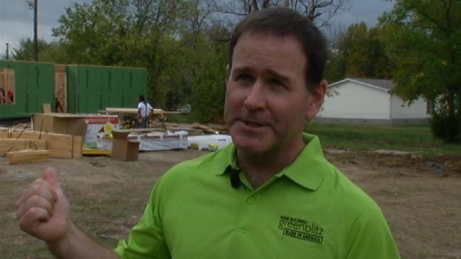 First Green, All-American Habitat For Humanity Home Going Up In Tulsa