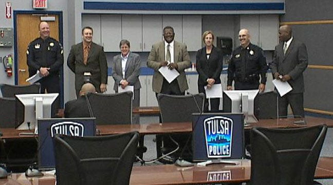 Tulsa Police Department Rewards Seven Officers With Promotions